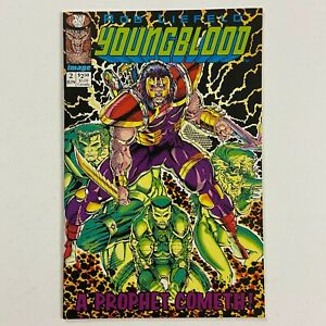 YOUNGBLOOD 2 1ST PROPHET & SHADOWHAWK GREEN TITLE (1992, IMAGE)