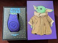 Baby Yoda The Child Mandalorian Star Wars LE MagicBand Disney Parks NEW UNLINKED