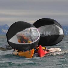 42'' Portable BLACK Kayak Popup Wind Sail Paddle Downwind Kit Accessories