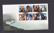 GB 2017 Star Wars Royal Mail FDC First Day Cover Leavesden Watford pictorial pmk