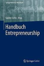 Handbuch Entrepreneurship by Springer Gabler (Hardback, 2017)