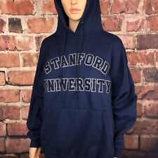 VIntage Stanford Womens Sweatshirt Navy Blue size Large (!)