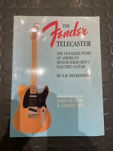 Fender Telecaster: The Detailed Story ... by A.R. Duchossoir Paperback