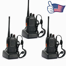 3x Baofeng BF-888S UHF 400-470MHz Handheld Two-way 5W Radio HT Walkie Talkie US