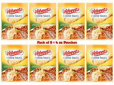 Pack of 8 Kraft Velveeta Cheese Sauce Jalapeno Flavor 4 oz each Pouch