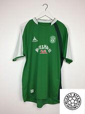 HIBERNIAN 07/08 Home Football Shirt (XL) Soccer Jersey Le Coq Sportif