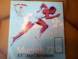 Album Munich 72 Jeux olympiques Panini (1 centaine autocollants)