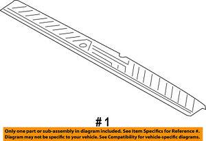 FORD OEM 15-18 Transit-250 Interior-Rear-Rear Sill Plate CK4Z6140374AA