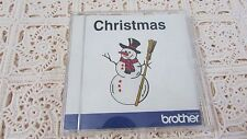Brother Embroidery Card CHRISTMAS OOP EXCELLENT Pre-Own Condition FREE SHIPPING