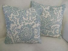 """MIZORAM BY THIBAUT 1 PAIR OF 18"""" CUSHION COVERS - DOUBLE SIDED & PIPED"""