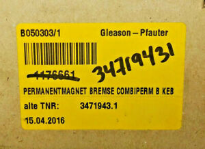 NEW! Gleason Pfauter 3471943.1 (FACTORY SEAL)