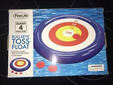 Fine Life Bullseye Toss Pool Float Inflatable Pool Game Fast Shipping