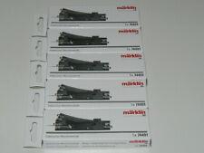 Märklin 74491, 5 x  Elektrischer Weichenantrieb für C Gleis Weichen, neu, OVP