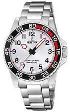 Festina   Roestvrij Stalen Armband Unisex / Junior F20459/1 Horloge