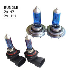 2x H7 Lampen +2x H11 Birnen Xenon Look Optik VW BMW OPEL SEAT FORD FIAT 12V