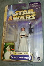 Star Wars 2003 PRINCESS LEIA ORGANA Imperial Captive Mint on Card
