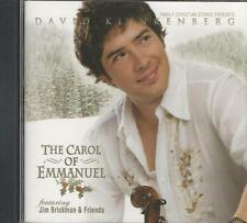 Music CD David Klinkenberg The Carol of Emmanuel