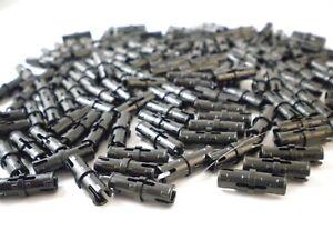 156 Lego Technic 10x 4121715 Pin Reibungskanten Mittelschlitzen schwarz NEU