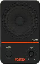 Fostex 6301NX 20W D-class Powered Active Monitor Speaker Black From Japan New