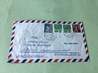 Japan Airmail stamps cover   Ref 53428