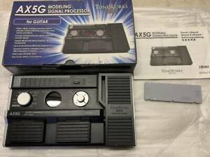 Korg Toneworks AX5G Guitar Multi Effects Pedal