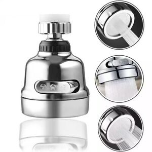 360 Degree Rotating Faucet Movable Kitchen Tap Head Water Saving Nozzle Sprayer