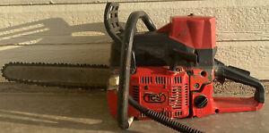 * ICS 633GC ** 16 INCH GAS CONCRETE CHAINSAW  Needs Carburetor Work!!!