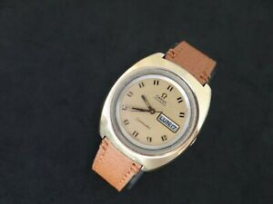 VINTAGE OMEGA SEAMASTER DAY & DATE OVERSIZE  AUTOMATIC CAL 752 REF 166.089