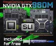nVidia Geforce GTX 980M SLI Upgrade Kit for MSI / CLEVO / ALIENWARE ON SALE NOW!