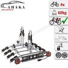 AHK Fahrradträger Anhängerkupplung für 4 Fahrräder Heckträger abklappbar