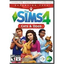 Brand New Sealed The Sims 4: Cats & Dogs Expansion Pack Windows or MAC PC game