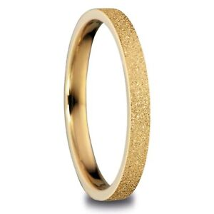 Bering Arctic Symphony Golden Stainless Steel Ring 557-29-91
