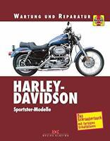 HARLEY-DAVIDSON Sportster Modelle Reparaturbuch Reparaturanleitung Handbuch Buch