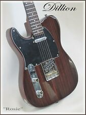 DILLION the best Left Hand Rosewood Tele + Fender AG 6 tuner FREE!!