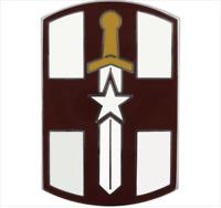 GENUINE U.S. ARMY COMBAT SERVICE IDENTIFICATION BADGE (CSIB): 807TH MEDICAL COMM