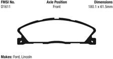 EBC Redstuff Ceramic Brake Pad Set Front for Ford Taurus / Lincoln MKT 3.5L