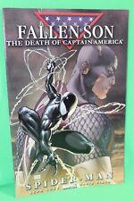 Fallen Son Death Captain America Chapter 4 Spider-Man Comic Marvel Comics F/VF