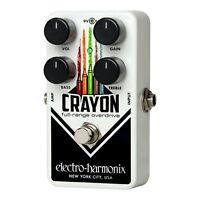 Electro-Harmonix CRAYON-69 Full Range Overdrive True Bypass Guitar Effect Pedal