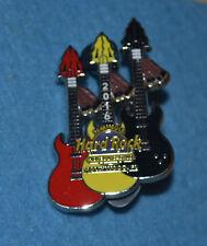 HARD ROCK CAFE 2016 Hollywood Hotel & Casino 3 Wars Guitar Pin # 87256