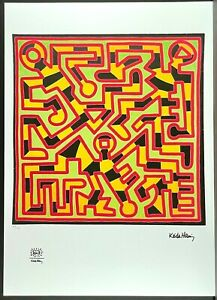 KEITH HARING * Untitled * signed lithograph * limited # 68/150