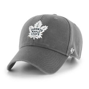 NHL Toronto Maple Leafs Baseball Cap MVP Legend Charcoal 194165818195