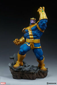 Sideshow Marvel Thanos Classic Version Avengers Assemble Statue