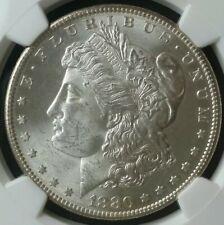 1880 S $1 Morgan Silver Dollar NGC MS63