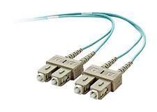 Belkin F2F40277-10M-G Multimode Duplex Fiber Optics Cable SC/SC 50/125 10Gb 10M