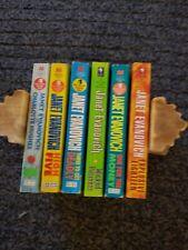 JANET EVANOVICH, Stephanie Plum Novels, 6 Book Lot, Good JJ