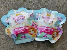 2 Whisker Haven Palace Pets Pop & Stick Mini Surprise Mystery Bags Series 2