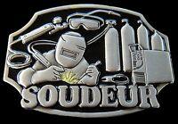 Boucle de Ceinture Soudeur French Welder Welding Tool Equipment Belt Buckle