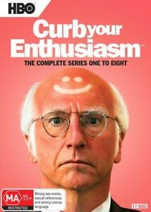 Curb Your Enthusiasm - Series Complete Season 1-8 Collection | DVD Region 4 R4