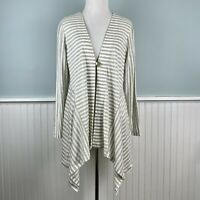 Size PL Soft Surroundings Linen Cardigan Sweater Tunic Top New Lagenlook P Large