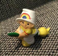 Vintage 1980 Rainbow Kids Plastic Figurines Toys Wallace Berrie Rare